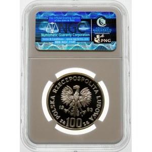 100 złotych 1983 Niedźwiedź - srebro