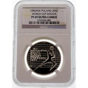 200 złotych 1982 MŚ Hiszpania - srebro