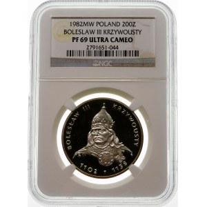 200 złotych 1982 Bolesław III Krzywousty - srebro