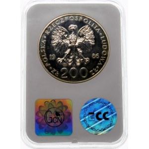 200 złotych 1986 Jan Paweł II - srebro