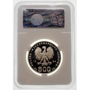 500 złotych 1984 Łabędź - srebro