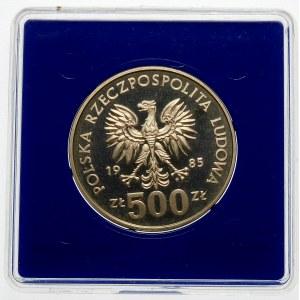 500 złotych 1985 Organizacja Narodów Zjednoczonych - srebro