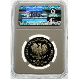 500 złotych 1987 Kazimierz III Wielki - srebro