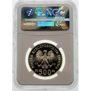 500 złotych 1988 Jadwiga - srebro