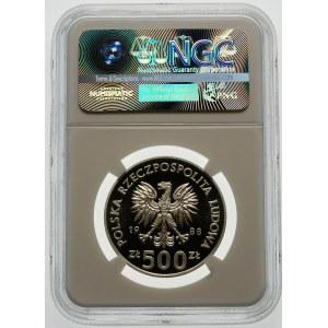 500 złotych 1988 MŚ w Piłce Nożnej - srebro