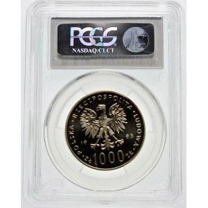 1000 złotych 1983 Jan Paweł II - srebro