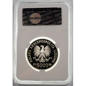 5000 złotych 1989 Henryk Sucharski - srebro