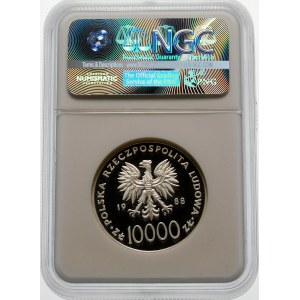 10000 złotych 1988 Jan Paweł II - srebro