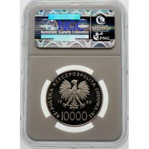 10000 złotych 1989 Jan Paweł II - srebro