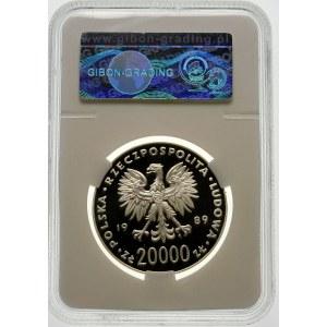 20000 złotych 1989 MŚ Włochy - srebro