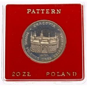 Próba 20 złotych 1981 Barbakan - miedzionikiel