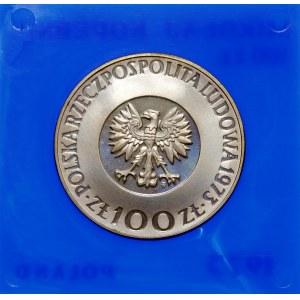 Próba 100 złotych 1973 Mikołaj Kopernik - srebro