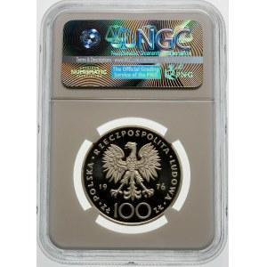 Próba 100 złotych 1976 Pułaski - srebro