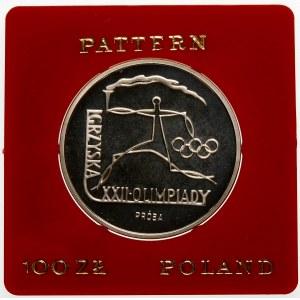 Próba 100 złotych 1980 Igrzyska - srebro