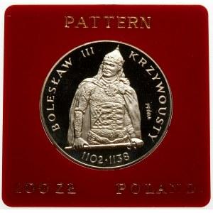 Próba 200 złotych 1982 Krzywousty - srebro