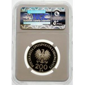Próba 200 złotych 1975 Zwycięstwo nad faszyzmem - srebro