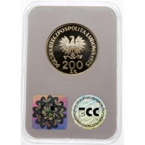 Próba 200 złotych 1975 XXX Rocznica Zwycięstwa - srebro