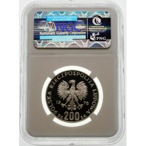 Próba 200 złotych 1976 Igrzyska XXI Olimpiady - srebro