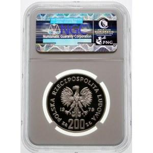 Próba 200 złotych 1979 Mieszko I - srebro