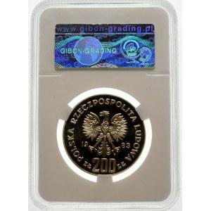 Próba 200 złotych 1983 Odsiecz Wiedeńska - srebro