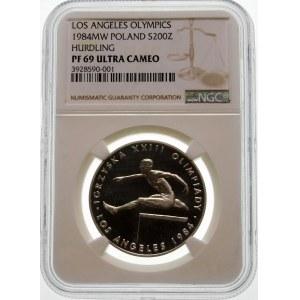 200 złotych 1984 Los Angeles - srebro
