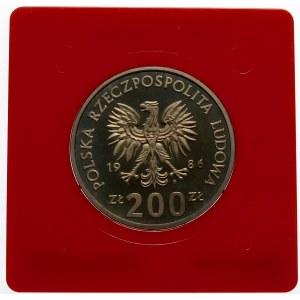 Próba 200 złotych 1986 Łokietek - miedzionikiel