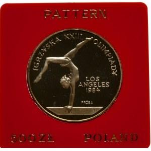 Próba 500 złotych 1983 Igrzyska XXIII Olimpiady - srebro