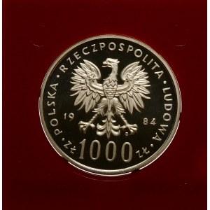 Próba 1000 złotych 1984 Witos - srebro