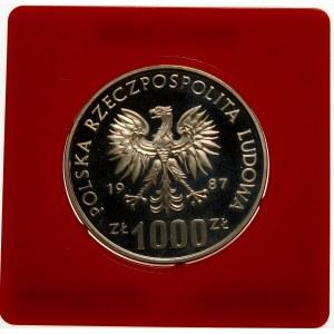 Próba 1000 złotych 1987 Wratislavia - srebro