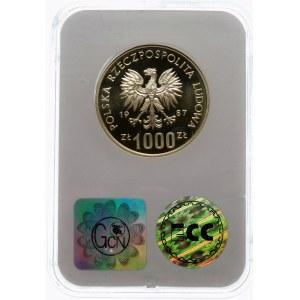 Próba 1000 złotych 1987 Igrzyska XXIV Olimpiady - srebro