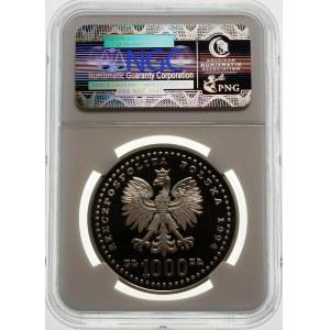 1000 złotych 1994 FIFA - srebro