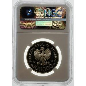 100000 złotych 1991 Tobruk - srebro