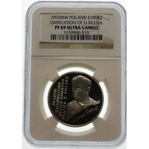 100000 złotych 1992 Korfanty - srebro