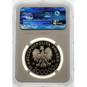 200000 złotych 1990 Stefan Rowecki - srebro