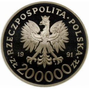 200000 złotych 1991 Konstytucja - srebro