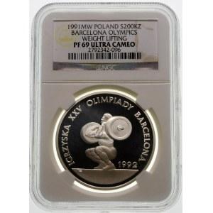 200000 złotych 1991 Olimpiada Barcelona - srebro