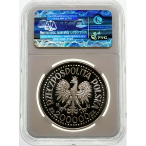 200000 złotych 1992 Odkrycie Ameryki - srebro
