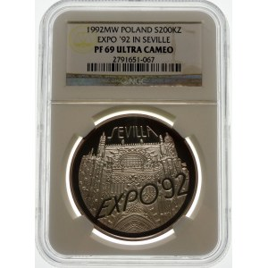 200000 złotych 1992 Expo Sevilla - srebro