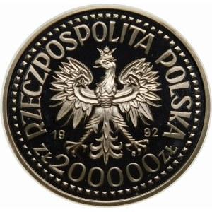 200000 złotych 1992 Warneńczyk - srebro