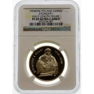 200000 złotych 1994 Zygmunt I Stary - srebro