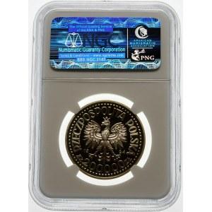 200000 złotych 1994 Monte Cassino - srebro