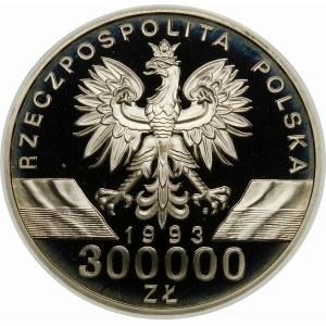 300000 złotych 1993 Jaskółki - srebro