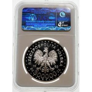 300000 złotych 1993 Powstanie w Getcie - srebro
