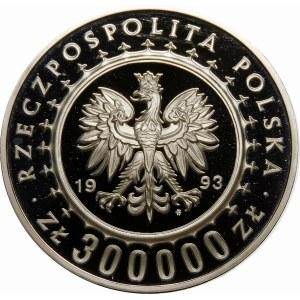 300000 złotych 1993 Zamek w Łańcucie - srebro