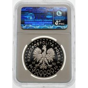 300000 złotych 1993 ZAMOŚĆ - srebro
