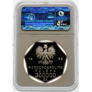 300000 złotych 1994 Odrodzenie Banku Polskiego - srebro