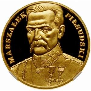500000 złotych 1990 Piłsudski - złoto WYJĄTKOWA