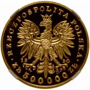 500000 złotych 1990 Kościuszko - złoto WYJĄTKOWA