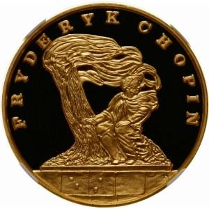 500000 złotych 1990 Chopin - złoto WYJĄTKOWA