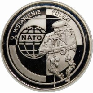 10 złotych 1999 NATO - srebro